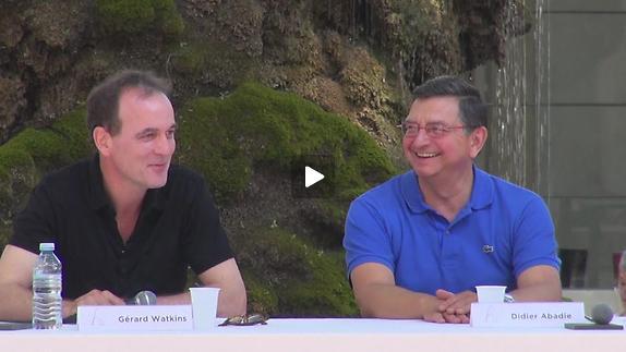 """Vidéo G. Watkins et D. Abadie pour """"Ecoles au festival / Europia fable..."""""""