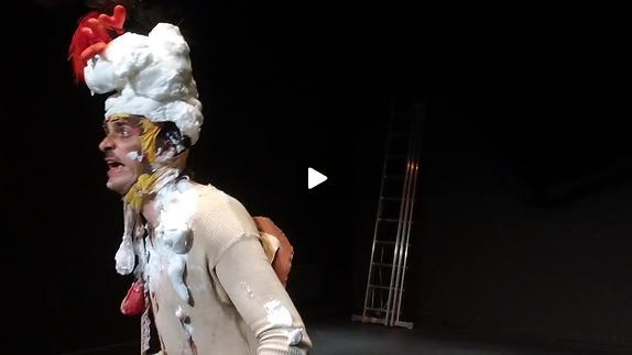 "Vidéo ""Moi, Malvolio"" de Tim Crouch, m.e.s. Catherine Hargreaves - Teaser"