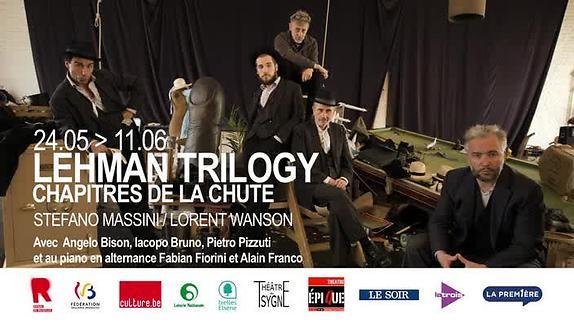 """Vidéo """"Lehman Trilogy - Chapitres de la chute"""", m.e.s. L. Wanson - Teaser"""
