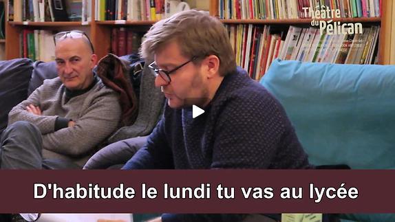 """Vidéo """"C'é moi ki è cramais la poubel"""" - Rencontre avec Sylvain Levey"""