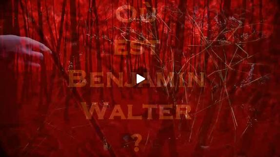 """Vidéo """"Benjamin Walter"""" de Frédéric Sonntag - Cie AsaNIsiMAsa - Teaser"""