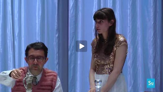 """Vidéo """"Dans la république du bonheur"""", m.e.s. É. Vigier et M. Di Fonzo Bo, extraits"""