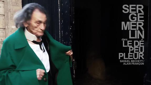 """Vidéo """"Le Dépeupleur"""" avec Serge Merlin, m.e.s Alain Françon - Teaser"""