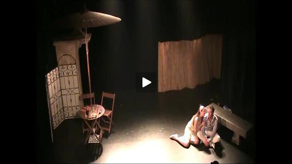 """Vidéo """"Les Crabes ou les hôtes et les hôtes"""", m.e.s. J.B. Fournier,  extraits"""