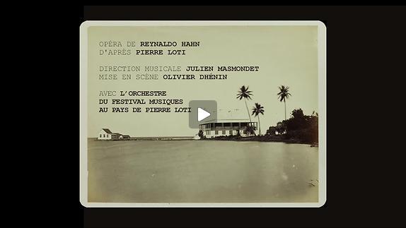 """Vidéo """"L'Île du rêve"""", m.e.s. Olivier Dhénin - Teaser"""