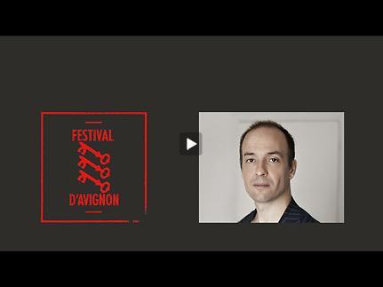 """Vidéo Entretien avec Aurélien Bory pour """"Espæce"""""""