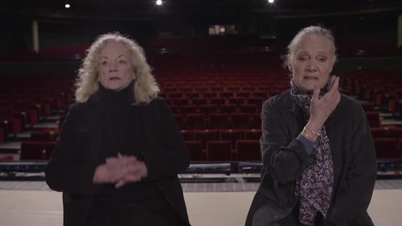 """Vidéo """"La nostalgie des blattes"""", texte et m.e.s. de Pierre Notte - Extraits"""