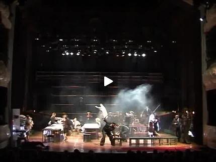 "Vidéo ""La noce"" de A. Tchekhov, m.e.s. V. Pankov, bande-annonce"