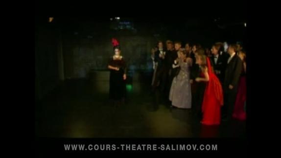 """Image du spectacle """"La Chauve-souris"""" (extr 4), opérette de Johann Strauss fils, Emile Salimov"""