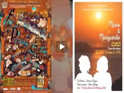 """Vidéo """"Marie et Marguerite"""" - Festival du Printemps de la création 2016"""