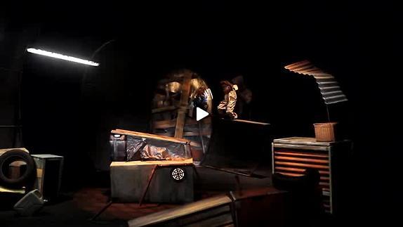 """Vidéo """"L'Echo souterrain"""" - Cie Des Fourmis dans la lanterne - Bande-annonce"""