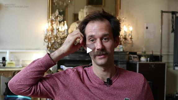 """Vidéo Benjamin Lavernhe, """"Scapin"""", le début de la pièce"""