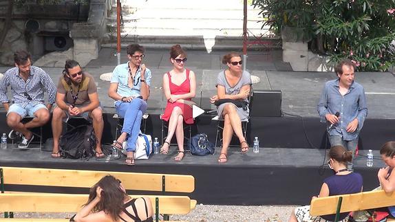 """Vidéo Dialogue artistes-spectateurs autour de """"Riquet"""" d'A. Herniotte"""