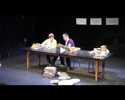 """Vidéo """"Words are watching you"""", m.e.s. Julie Timmerman - extraits et entretien"""