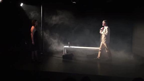 """Image du spectacle """"Partir"""" de SylvainRenard, extrait"""