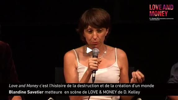 Vidéo ''Love & Money'', présentation par Blandine Savetier