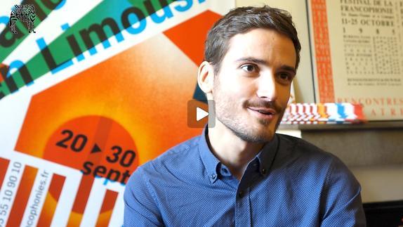 """Vidéo Entretien avec Anthony Thibault pour """"La Loi de la gravité"""""""