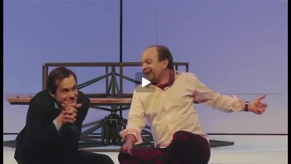 """Vidéo """"Le Jeu de l'amour et du hasard"""" m.e.s. L. Laffargue, extraits"""