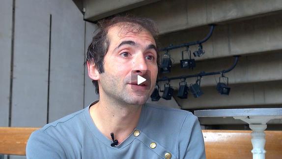 "Vidéo ""Les Glaciers grondants"" de David Lescot / La question de l'écriture"