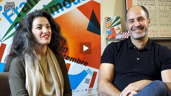 """Vidéo Entretien avec Aïcha M'Barek et Hafiz Dhaou pour """"Narcose"""""""
