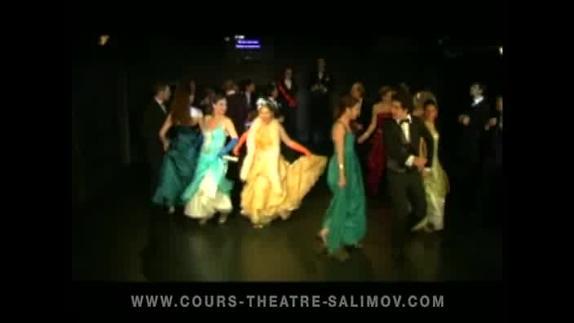 """Vidéo """"La Chauve-souris"""" (extr 1), opérette de Johann Strauss fils, Emile Salimov"""