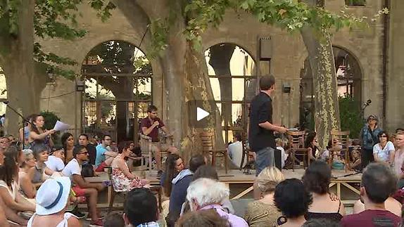 """Vidéo """"La République de Platon"""" Groupe E, extraits"""