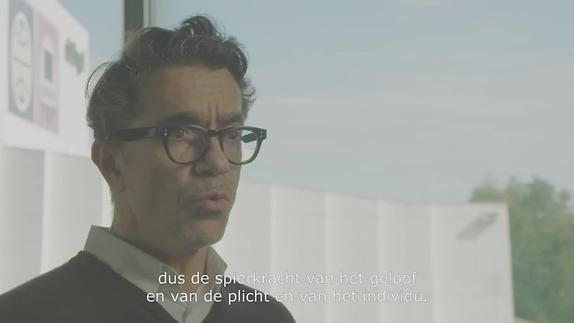 """Vidéo Romeo Castellucci, """"De la Démocratie en Amérique"""", présentation"""