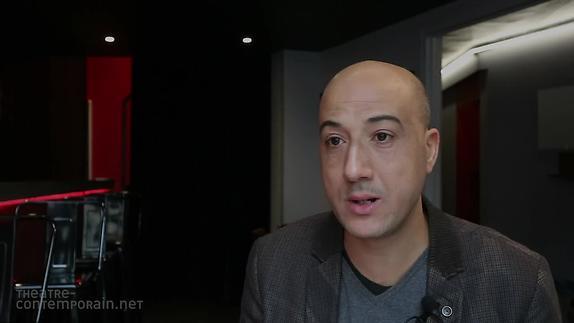 """Vidéo Nasser Djemaï, """"Vertiges"""", les difficultés d'écriture"""