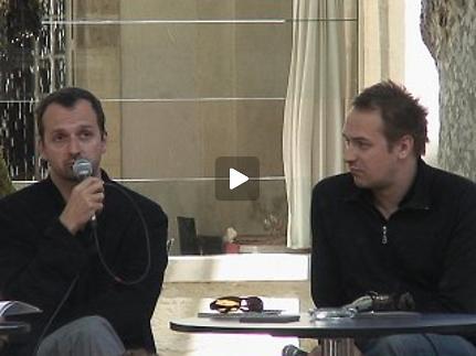 """Vidéo Frédéric Fisbach pour """"Feuillets d'hypnos"""""""