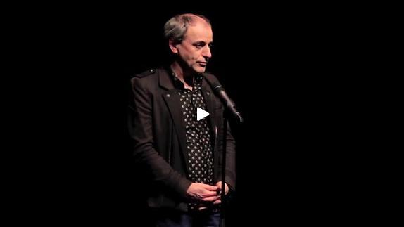 """Image du spectacle """"Fragments d'un pays lointain"""", présentation par Jean-Pierre Garnier"""