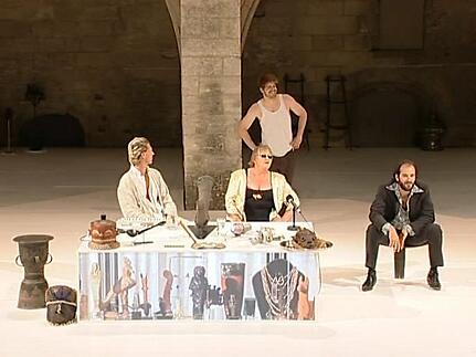 """Vidéo """"La chambre d'Isabella"""",  Jan Lauwers"""