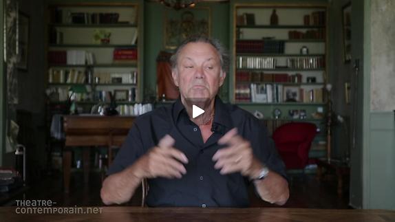 """Vidéo Philippe Caubère, """"Est-il nécessaire de connaitre vos personnages ?"""""""