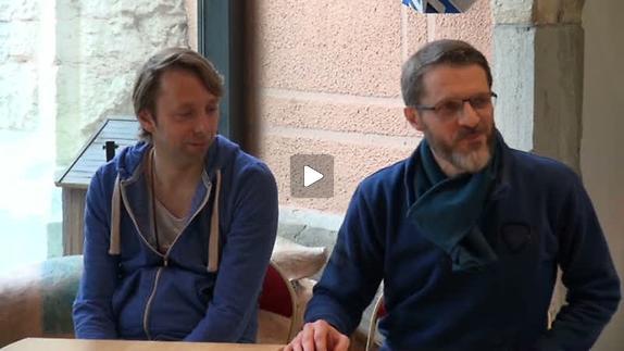 """Vidéo """"De Mémoire d'estomac"""" m.e.s. Robert Sandoz, point presse"""