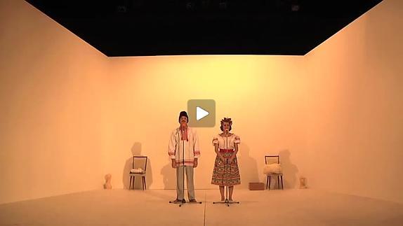 """Vidéo """"Les époux"""" de David Lescot, m.e.s. A.-L. Liégeois - Extraits"""