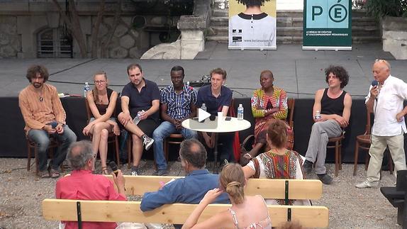 """Vidéo """"Dialogues artistes-spectateurs"""" autour de """"Même les chevaliers tombent..."""""""