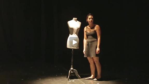 """Vidéo """"L'affamée"""", m.e.s. Catherine Decastel - Extrait court 1"""