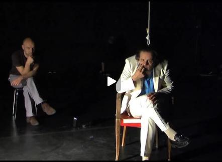 """Vidéo """"Hapax"""", d'après W.Gombrowicz, m.e.s de Perrine Mornay / Collectif Impatience, f"""