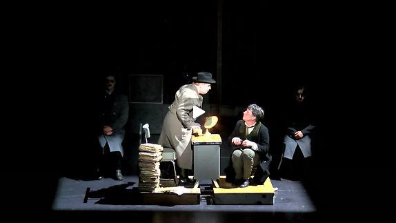 "Vidéo ""La Fuite !"" de Mikhaïl Boulgakov, m.e.s. Macha Makeïeff - Teaser (1/2)"