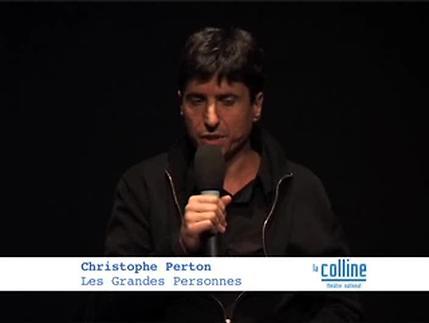 Vidéo Présentation du spectacle Les Grandes Personnes