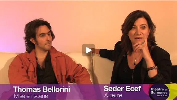 """Vidéo """"A la périphérie"""", présentation par T. Bellorini et S. Ecer"""