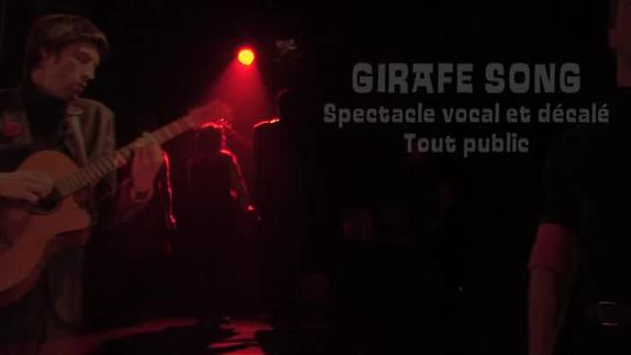 "Vidéo ""Girafe Song"" - Compagnie 3ème Acte - Teaser"