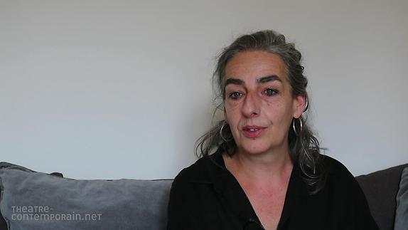 """Vidéo Veronika Mabardi, """"Le premier texte de théâtre"""""""