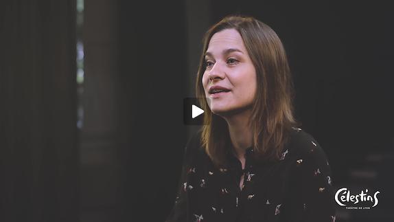 """Vidéo """"Iphigénie"""" - Entretien avec Chloé Dabert"""