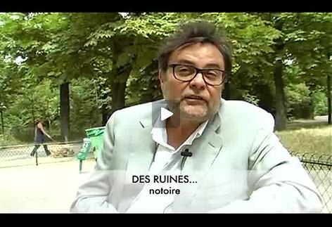 """Vidéo """"Des ruines ...."""", présentation par Thierry Bedard"""