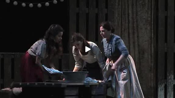 "Vidéo ""Liliom"", m.e.s. Patrick Alluin - Mireno Théâtre - Extraits"