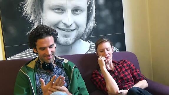 """Vidéo """"Comme une pierre qui..."""" - Interview de Marie Rémond et Sébastien Pouderoux"""