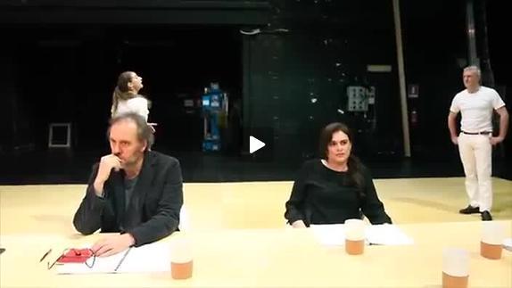 "Vidéo ""Prova"" de Pascal Rambert - Extrait"