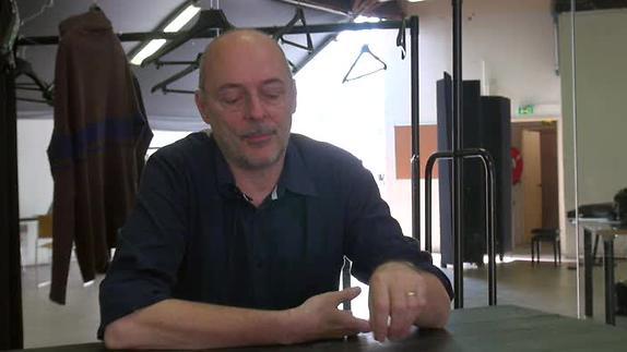 """Vidéo Jean-Daniel Magnin,"""" La découverte du théâtre"""""""