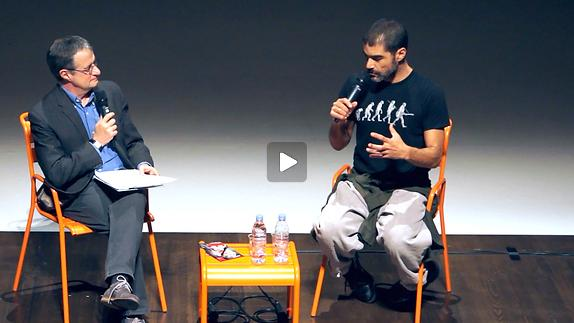 """Image du spectacle Rencontre avec Emanuel Gat pour """"Story Water"""""""