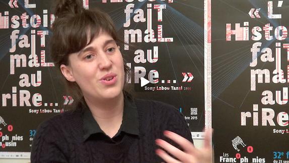 """Vidéo Entretien avec Sarah Berthiaume pour """"Après la peur"""""""